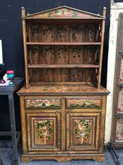 Sale 8851 - Lot 1016 - Oriental Themed Buffet and Hutch
