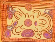 Sale 8288A - Lot 21 - Margaret Lewis Napangardi (c1956 - ) - Mina Mina Dreaming, 2008 120 x 149cm