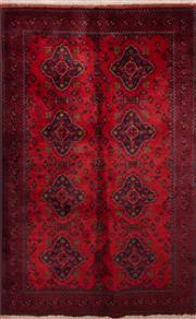Sale 8447C - Lot 76 - Afghan Beljic 130cm x 205cm
