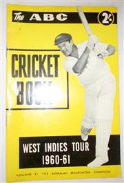 Sale 8460C - Lot 36 - ABC Cricket Book West Indies Tour 1960–61. Very good.