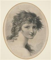 Sale 8552 - Lot 2023 - Thomas Cheesman (1760-1834/35) - Portrait, 1801 37 x 29cm
