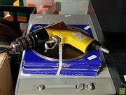 Sale 8582 - Lot 2273 - 180mm Diamond Blades & Air Pressure Drill