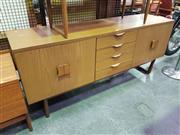Sale 8625 - Lot 1077 - 1960s Europa Sideboard (H: 76 W: 176 D: 47cm)