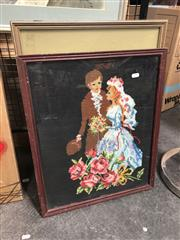 Sale 8819 - Lot 2107 - Collection of Framed Tapestries