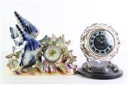 Sale 8894 - Lot 390 - USSR Made Clock Together With a Fish Themed Example