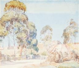 Sale 9067 - Lot 564 - Herbert Reginald Gallop (1890 - 1958) - The Road Home 36 x 41 cm (frame: 57 x 63 x 2 cm)