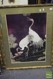 Sale 8497 - Lot 2025 - Set of 3 Oriental Framed Prints