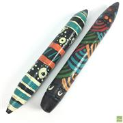 Sale 8654 - Lot 49 - Aboriginal Clapping Sticks