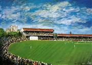 Sale 8756A - Lot 5026 - Kevin Charles Pro Hart (1928 - 2006) - S.A Cricket 49.5 x 64.5cm (sheet size)