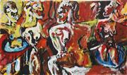 Sale 8870 - Lot 2028 - Michael Nicholls (1960 - ) - Hot Springs 53 x 94cm