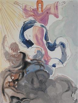 Sale 9221JM - Lot 5083 - SALVADOR DALI (1904 - 1989) Piccardo Donati offset lithograph, e.d 251/300 33 x 25.5 cm (frame: 64 x 57 x 3 cm) facsimile signature ...
