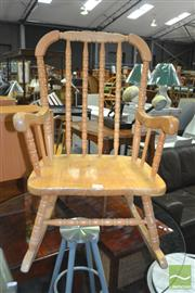 Sale 8431 - Lot 1075 - Kids Rocking Chair