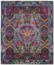Sale 8626A - Lot 11 - A Cadrys Afghan Revival Handspun Wool Carpet, Size; 292X250cm, RRP;$10655