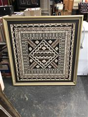 Sale 8841 - Lot 2084 - A Tapa Cloth, 110 x 110cm