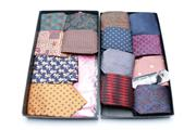 Sale 8864O - Lot 667 - Collection of 15 Italian Silk ties incl. a Versace example