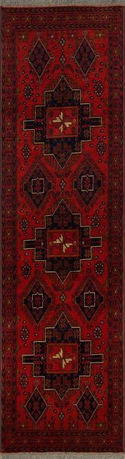 Sale 8360C - Lot 37 - Afghan Khal Mohamadi 288cm x 78cm