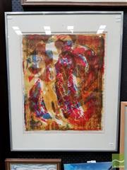 Sale 8491 - Lot 2002 - Ian Purvis (1916 - ) - Ikon II: The Archangel Mac Michael 55.5 x 46cm