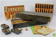 Sale 8505 - Lot 52 - Chinese Chess Set & Mahjong Set