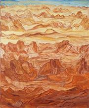 Sale 8743 - Lot 531 - Angelina George (1937 - 2014) - Faraway Places, 2008 160 x 120cm (stretched and ready to hang)