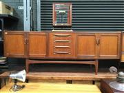 Sale 8859 - Lot 1016 - G-Plan Fresco Sideboard with 4 Doors & 4 Central Drawers