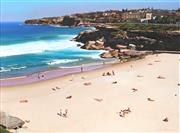Sale 8881 - Lot 513 - John Earle (1955 - ) - Tamarama Beach 56.5 x 74.5 cm