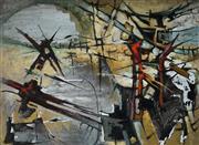 Sale 9001 - Lot 503 - Joan Beck (1916 - ) - Untitled 40 x 54.5 cm (frame: 55 x 70 x 4 cm)
