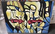 Sale 9004 - Lot 2086 - Artist Unknown Transition, acrylic on canvas, 90 x 120 cm