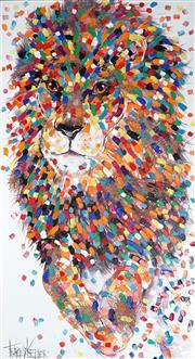 Sale 9009A - Lot 5040 - Tracey Keller - Lion 140 x 80 cm