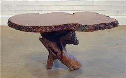 Sale 9191 - Lot 1097 - Organic coffee table (h45 x w86 x d80cm)