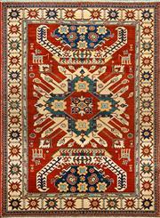 Sale 8353C - Lot 79 - Afghan Super Kazak 174cm x 132cm