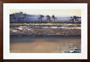Sale 8382 - Lot 534 - Geoff Dyer (1947 - ) - Untitled (Landscape) 61.5 x 101cm