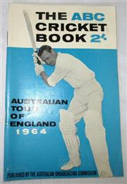 Sale 8460C - Lot 40 - ABC Cricket Book Australian Tour of England 1964. Very good.
