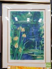 Sale 8495 - Lot 2034 - Artist Unknown (French School) - Pond 59 x 40.5cm