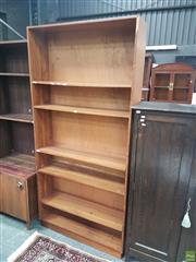 Sale 8601 - Lot 1559 - Timber Bookshelf