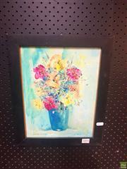 Sale 8640 - Lot 2094 - Stephen Tandori - Floral, Oil, SLL