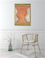 Sale 8743 - Lot 520 - Mick Jawalji (1919 - 2012) - Wuruwa, 2006 60 x 80cm (stretched and ready to hang)