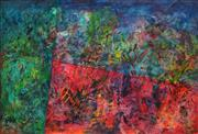 Sale 8881 - Lot 586 - Maximilian Feuerring (1896 - 1985) - Colours of Seasons 60 x 90 cm
