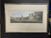 Sale 8932 - Lot 2056 - Niki Mcitary - Balmoral Castle Ltd Etd Print 5/100 (50cm x 20cm)