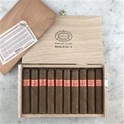 Sale 9089W - Lot 50 - Partagas Serie D No. 5 Cuban Cigars - box of 10 cigars, stamped April 2018