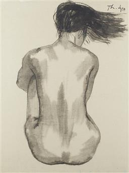 Sale 9118A - Lot 5027 - Dao Thanh Dzuy (1959 - ) - Nude 01, 1994 68 x 51.5 cm