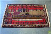 Sale 8390 - Lot 1442 - Persian Balouch (140 x 85cm)