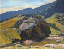 Sale 9067 - Lot 528 - Frederick Leist (1878 - 1945) - Monaro Landscape 38.5 x 49 cm (frame: 50 x 60 x 3 cm)
