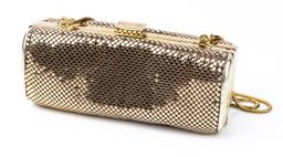 Sale 9092F - Lot 71 - A MIMCO GOLD GLOMESH PURSE, with gold shoulder strap. (sinking in to one side)