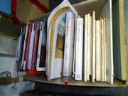 Sale 7943A - Lot 1633 - Box of Art Books & Magazines incl. Art & Australia; The World of Norman Lindsay, ed. L. Bloomfield; etc