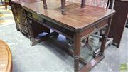Sale 8375 - Lot 1099 - Gothic Pine Centre Table