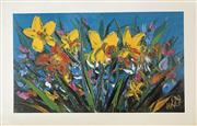 Sale 8655A - Lot 5044 - Kevin Charles (Pro) Hart (1928 - 2006) - Wildflowers 55 x 85.5cm