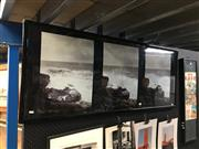 Sale 8754 - Lot 2062 - Artist Unknown - Crashing Waves, photographs (triptych), frame size: 58 x 148cm