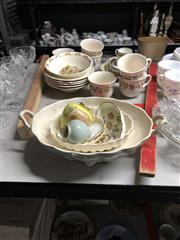 Sale 8819 - Lot 2499 - Collection of Ceramics incl. Shelly Dish, Wedgewood, and Others