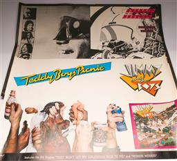 Sale 9136 - Lot 75 - Jimmy And The Boys Album Poster (91cm x 64cm), Together With Jo Jo Zep Tour Poster (95cm x 72cm)