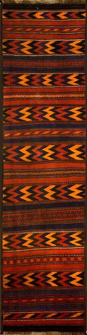 Sale 8360C - Lot 39 - Persian Kilim 333cm x 82cm